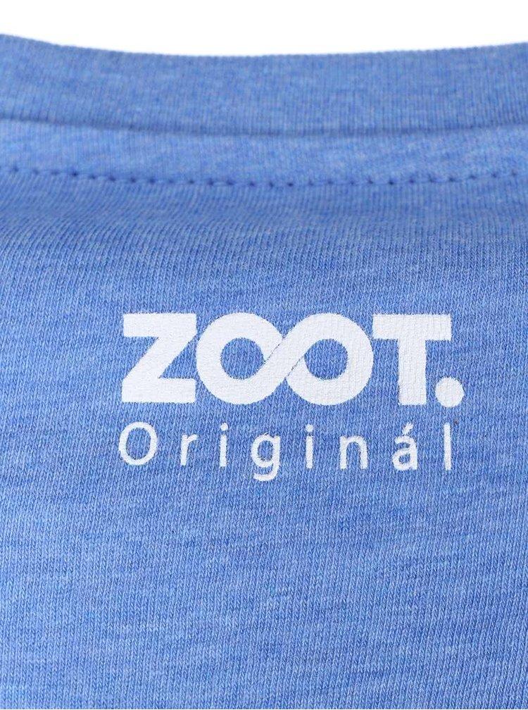 Modré pánské triko ZOOT Originál Sešit