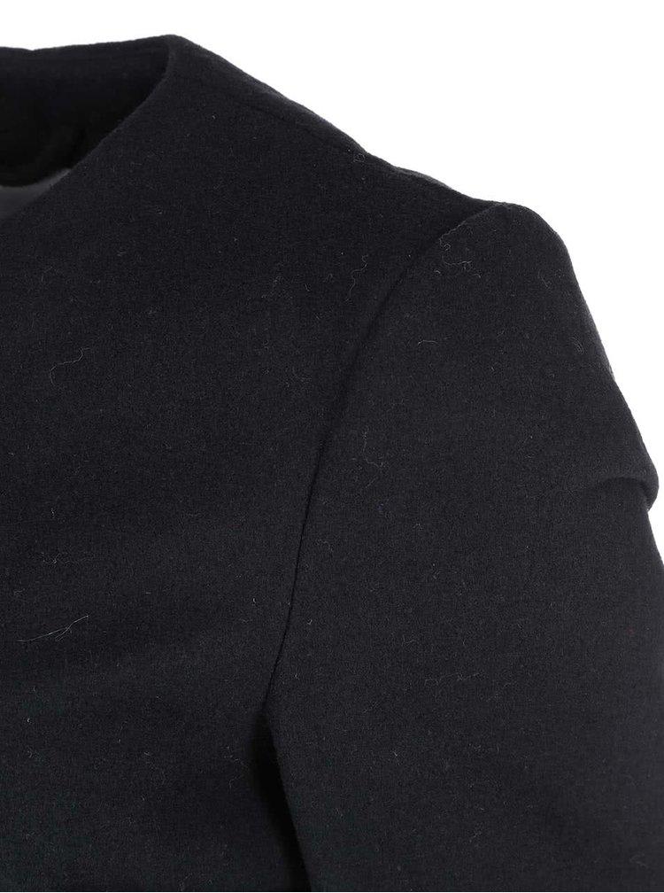 Palton de dama Louise Daisy, trei sferturi, de la VERO MODA, negru