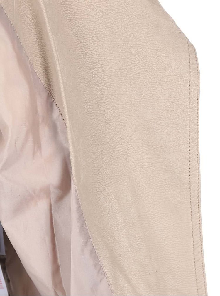 Jachetă bej de la VERO MODA Lizzy