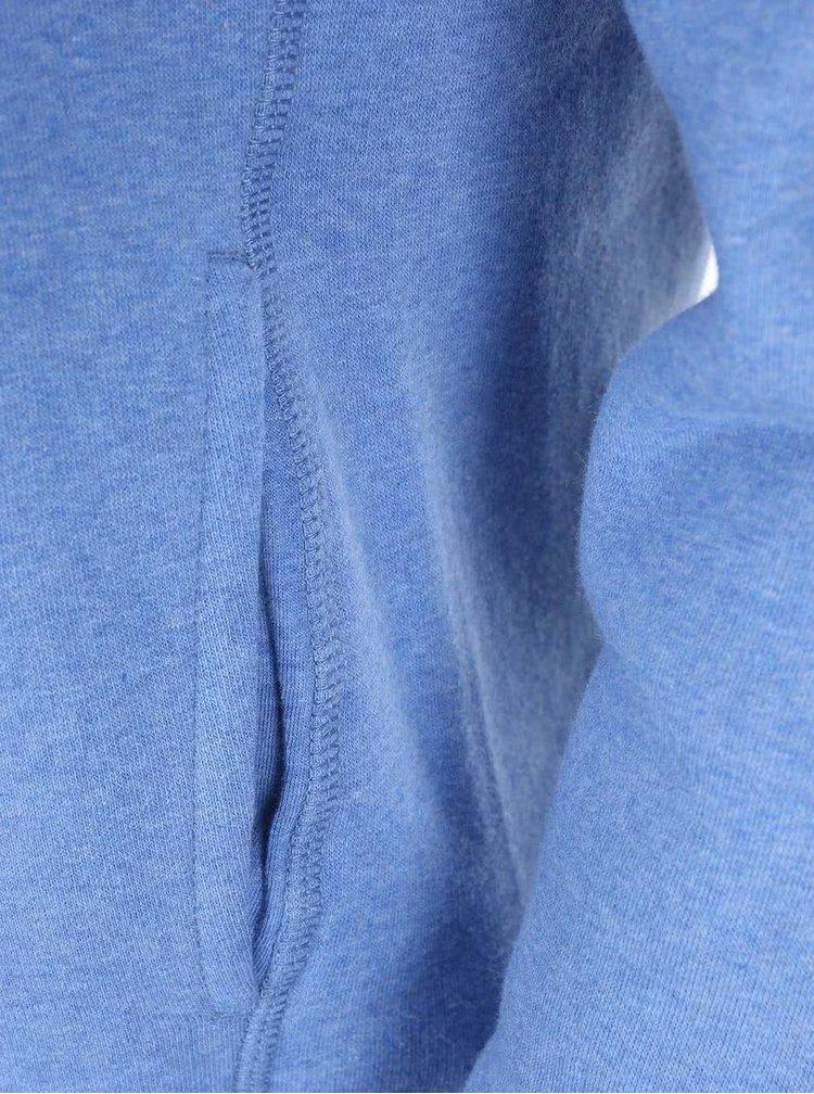 """Dobrá"" modrá dámska mikina s kapucňou KEEPItCLEAN"