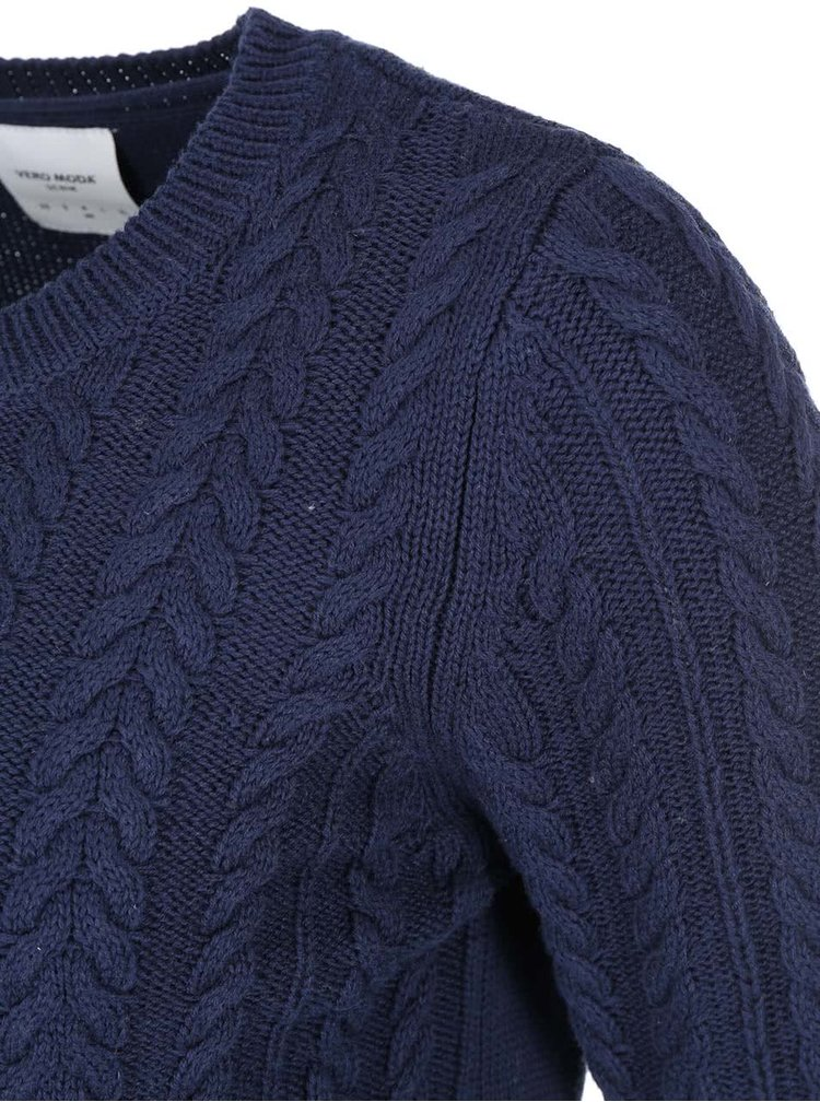 Bluza Walnut, de la VERO MODA, bleumarin, din bumbac
