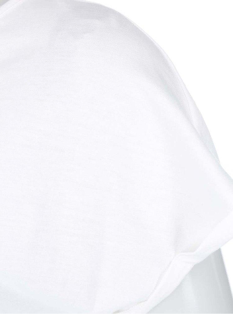 Biele tričko s potlačou VERO MODA Dedication