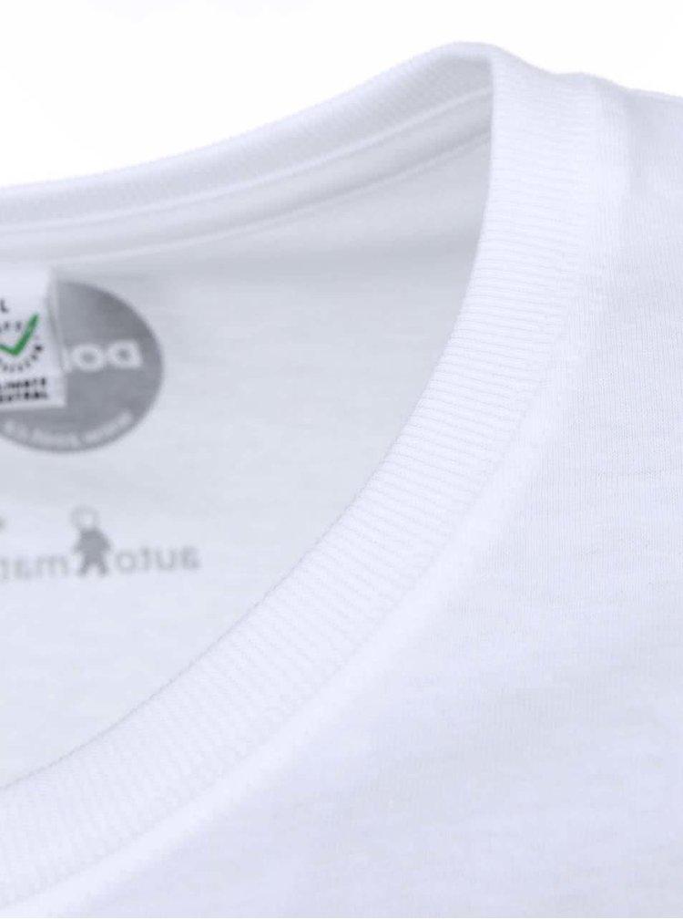"""""""Dobré"""" biele pánske tričko Zažít město jinak"""