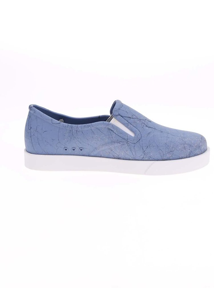 Pantofi slip on din plastic Mel Kick - albastru