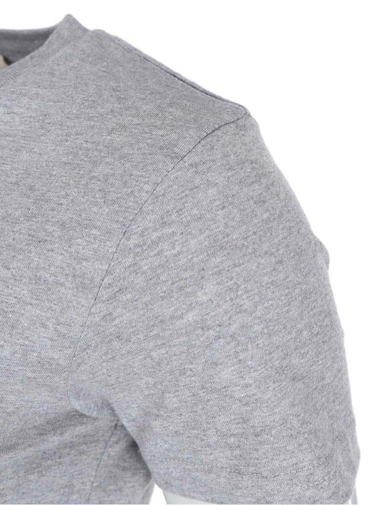 """""""Dobré"""" sivé dámske tričko Elpida Old's Cool"""