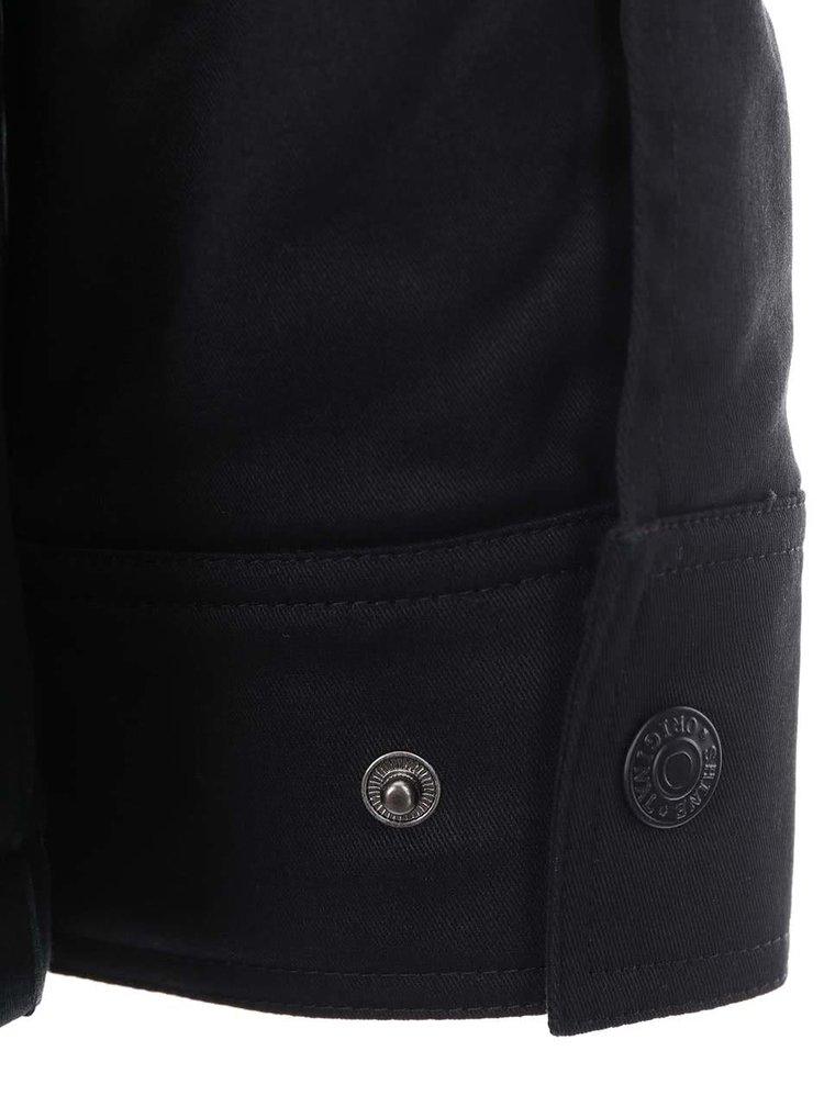 Jachetă neagră cu buzunare, marca Shine Original