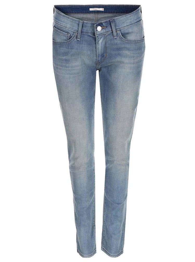 Jeansi skinny de dama de la Levi's® – albastru deschis