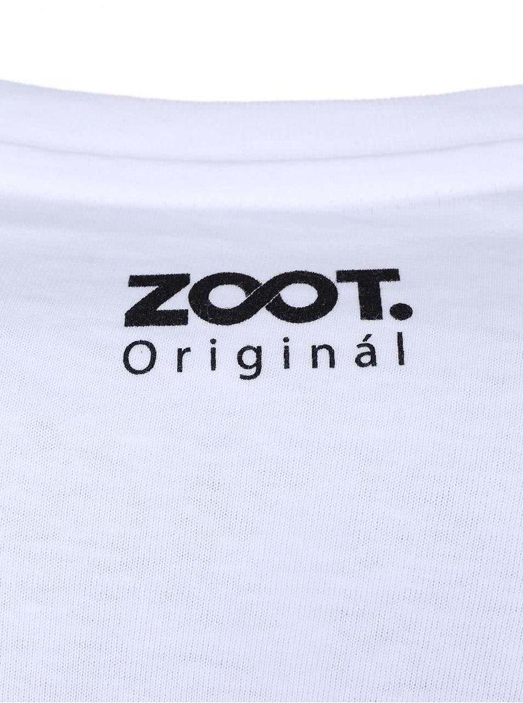 Tricou ZOOT Original Dirty Dancing alb barbatesc