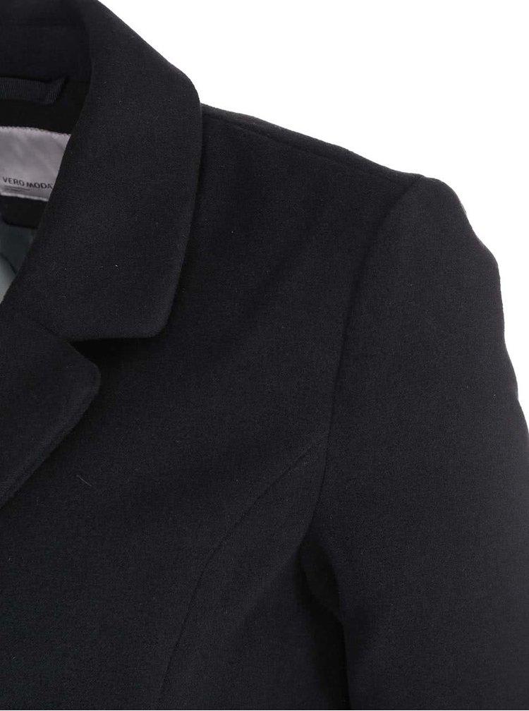 Černý kabát VERO MODA City