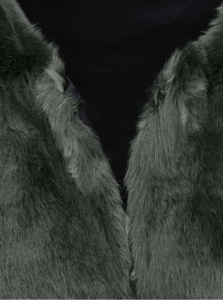 Vesta de blana Tyra, de la ONLY - verde-gri