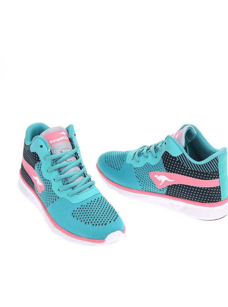 Pantofi sport K-Light, de la KangaROOS, de damă, roz cu turcoaz