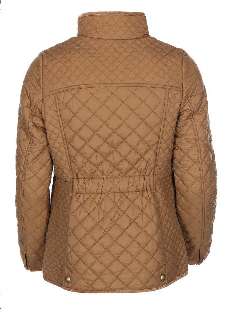 Hnedá prešívaná bunda Tom Joule Newdale