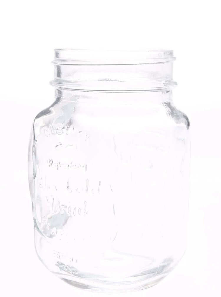 Čirá uzavíratelná sklenice se zeleným brčkem Kitchen Craft