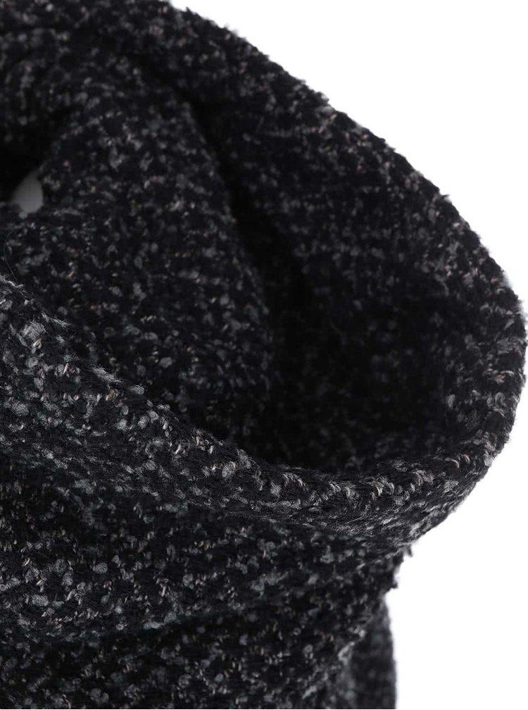 Jachetă VILA Cama Coat - - gri și negru