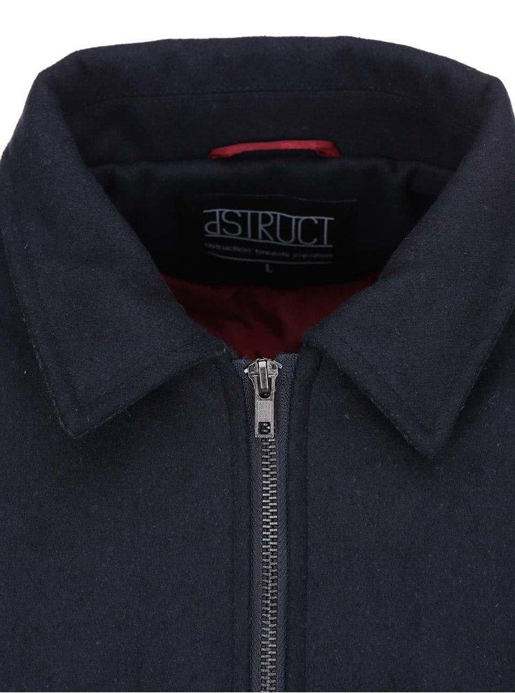 Tmavě modrá bunda D-Struct Draenor