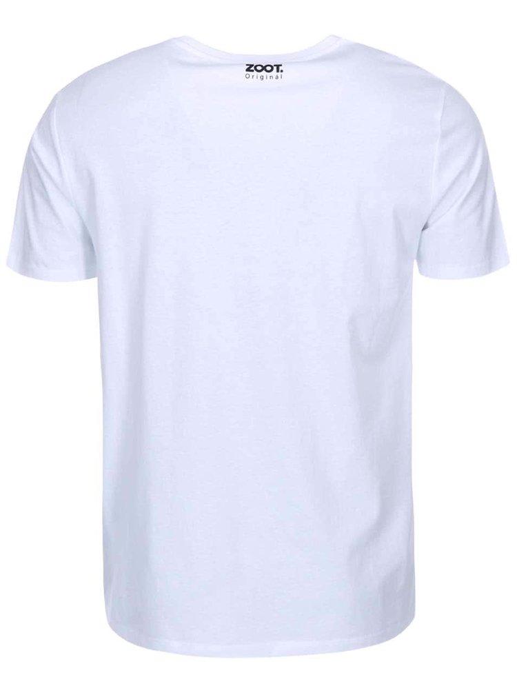 Bílé pánské triko ZOOT Originál Prd