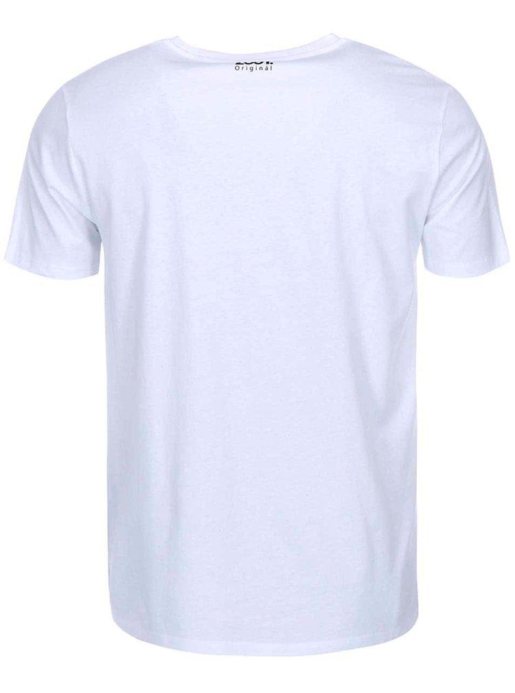 Bílé pánské triko ZOOT Originál Emotikons