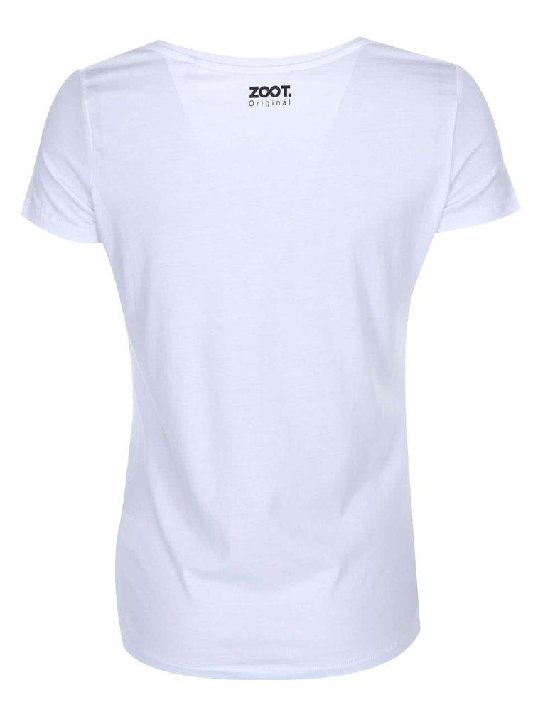 Bílé dámské tričko DENISA KRAFTOVÁ Another