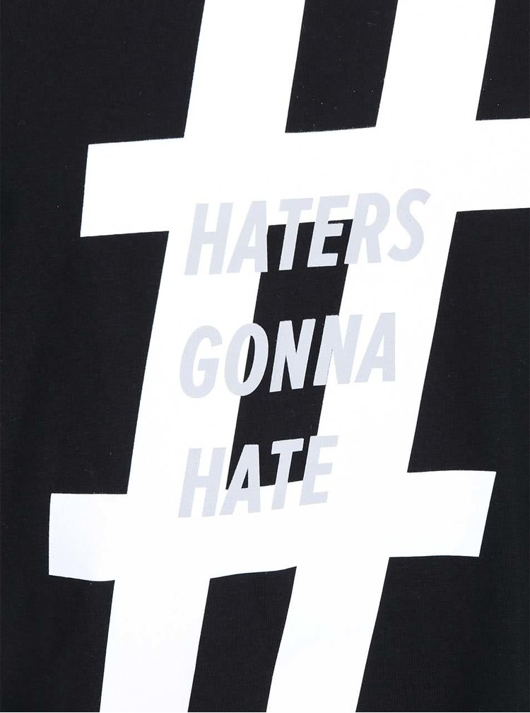 Čierne pánske tričko ZOOT Originál Haters gonna hate