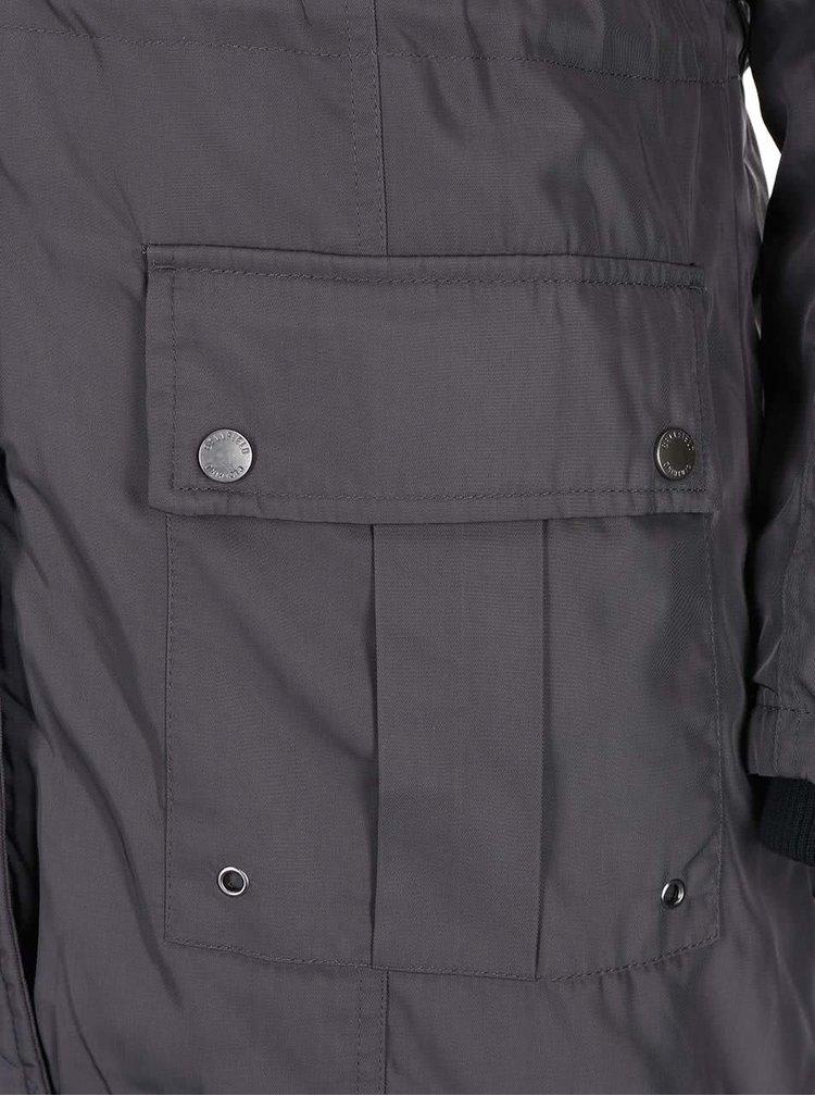 Tmavě šedá dámská bunda Bellfield Crawley