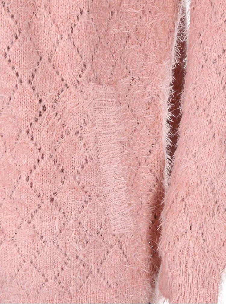 Ružový kardigan Bellfield Dawlish
