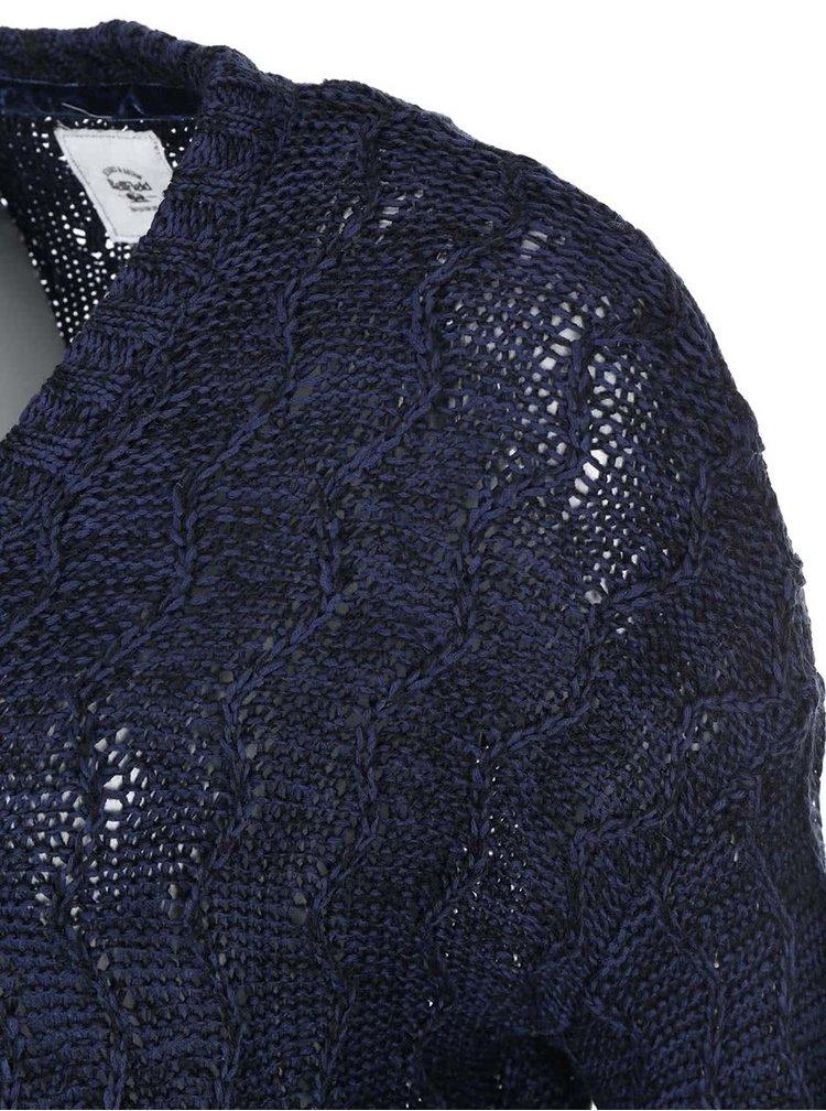 Tmavě modrý dámský volnější kadrigan Bellfield Lydney