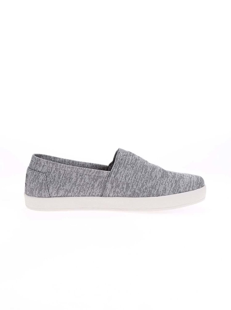 Espadrile Toms Avalon gri deschis barbatesti