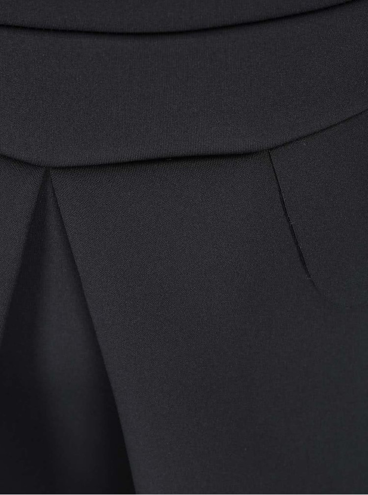 Rochie neagră cu fermoar de la AX Paris