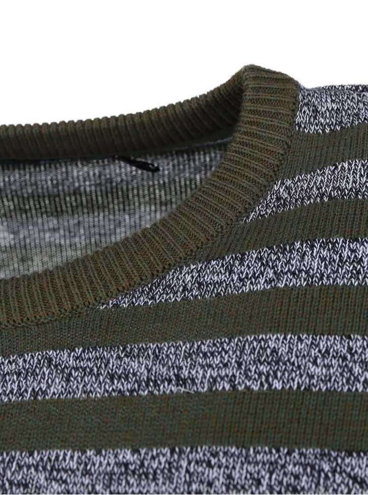 Pulover bărbătesc cu dungi verzi și gri de la Rip Curl