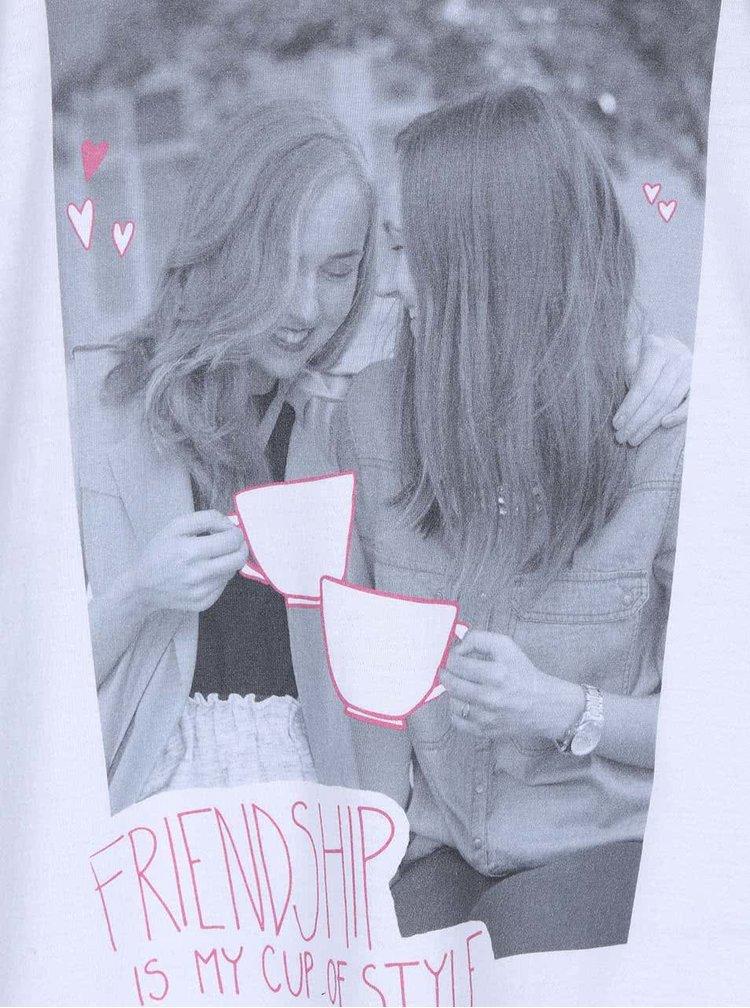 Biele dámske tielko ZOOT Originál Friendship