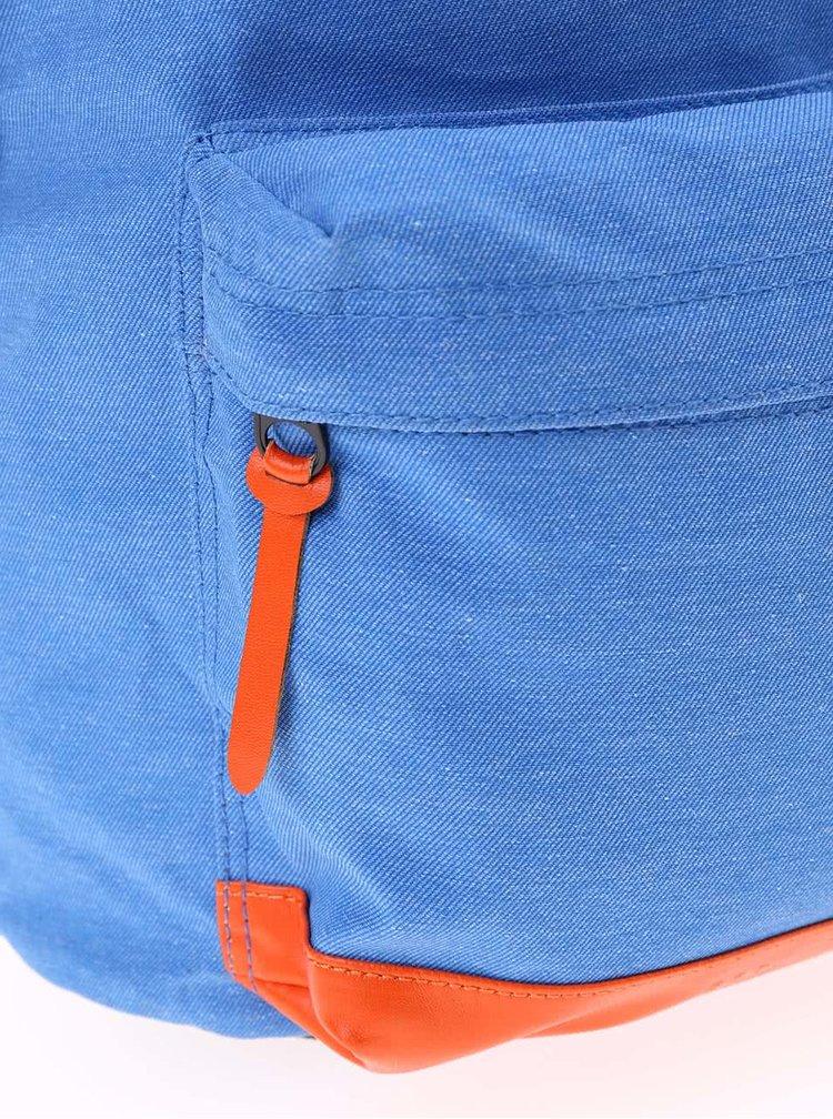 Rucsac Dome Twill Out albastru cu protecție împotriva ploii de la Rip Curl