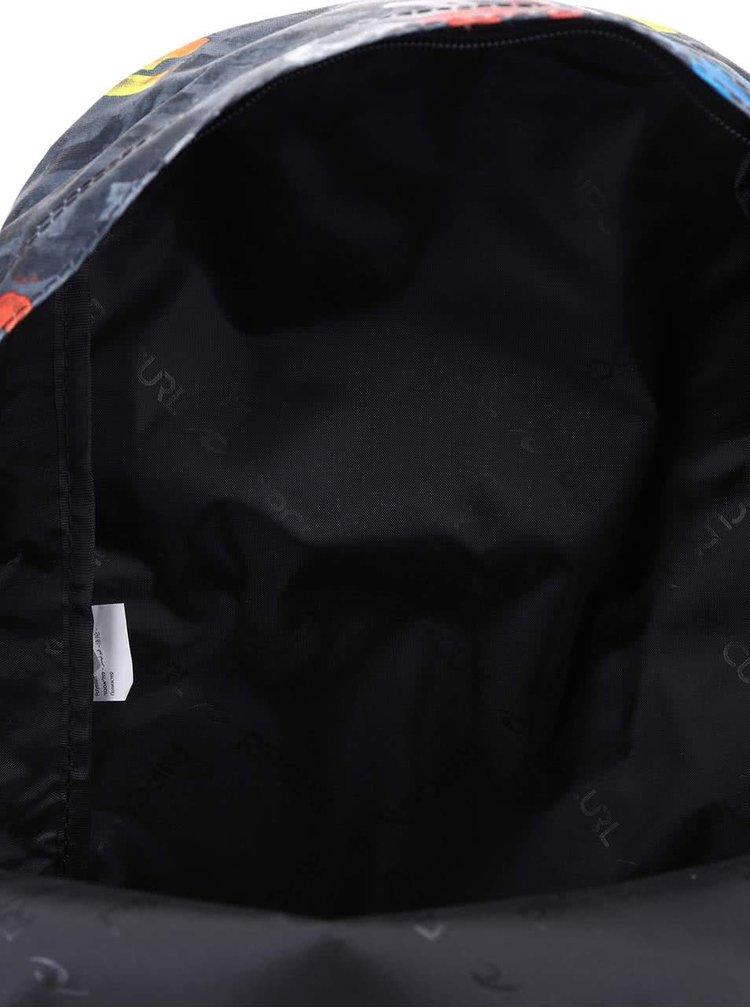 Čierny batoh s potlačou Rip Curl Dome Mamafont