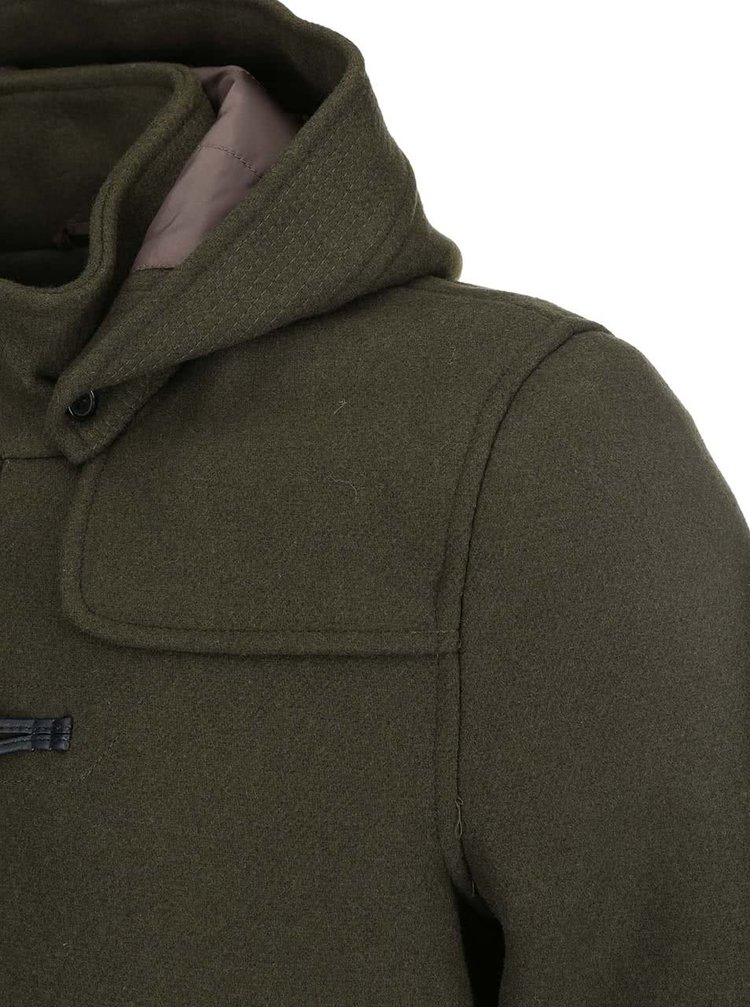 Khaki kabát s kapucí ONLY & SONS Tommy