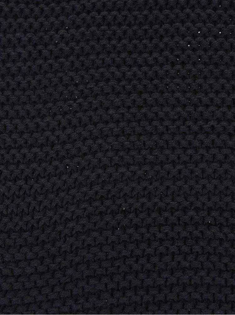 Černá dutá šála Jack & Jones Wave