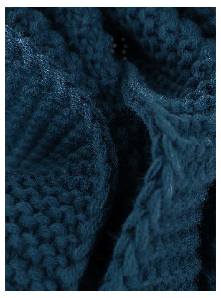 Modrá dutá šála Jack & Jones Wave