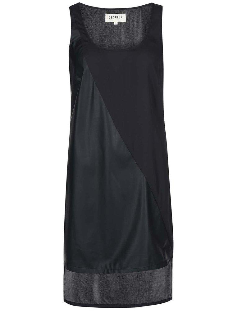 Čierne asymetrické šaty Desires Lisan