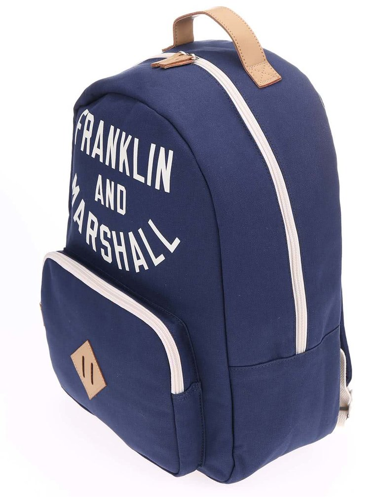 Rucsac unisex Franklin & Marshall - bleumarin