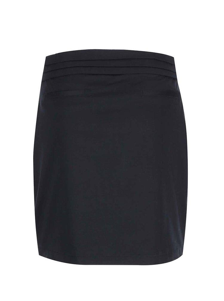 Čierna sukňa s vreckami Skunkfunk Patrice