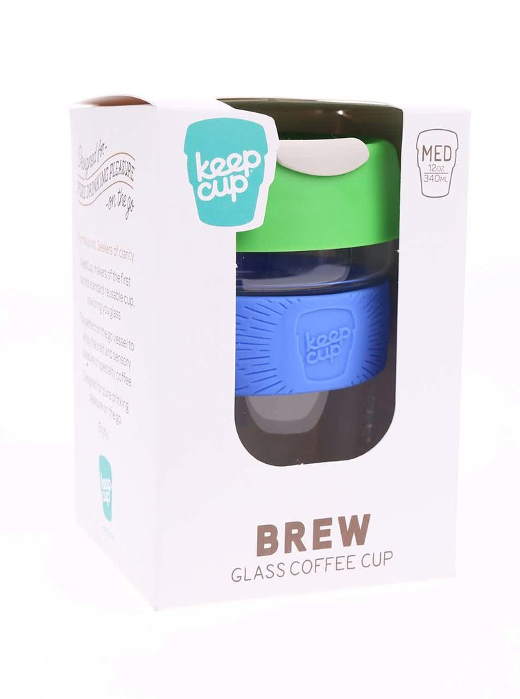 Cana de calatorie Renegade Brew Rascal Designer de la KeepCup - dimensiune medie