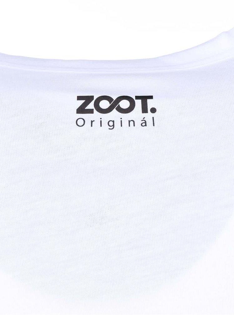 Tricou  ZOOT Original albastru cu model floral bărbătesc
