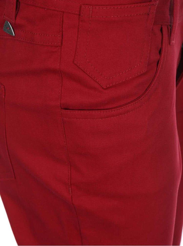 Červené skinny nohavice Skunkfunk Naomi