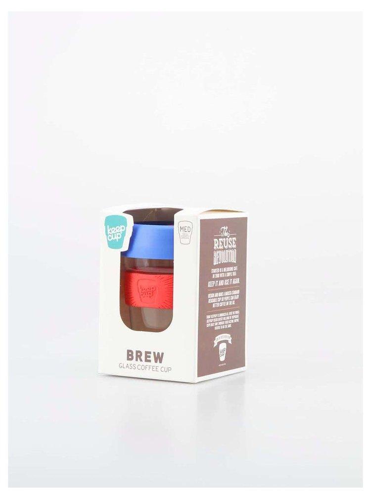 Dizajnový cestovný sklenený hrnček KeepCup Brew Elixir Medium