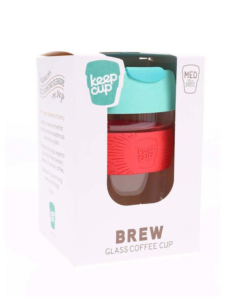 Cană de călătorie Renegade Brew Bandit din sticlă de la KeepCup - dimensiune medie