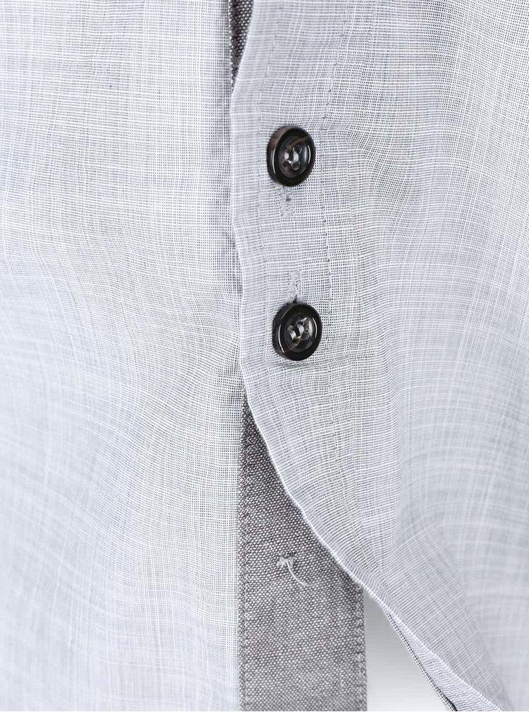 Sivá pánska košeľa Bellfield Kern