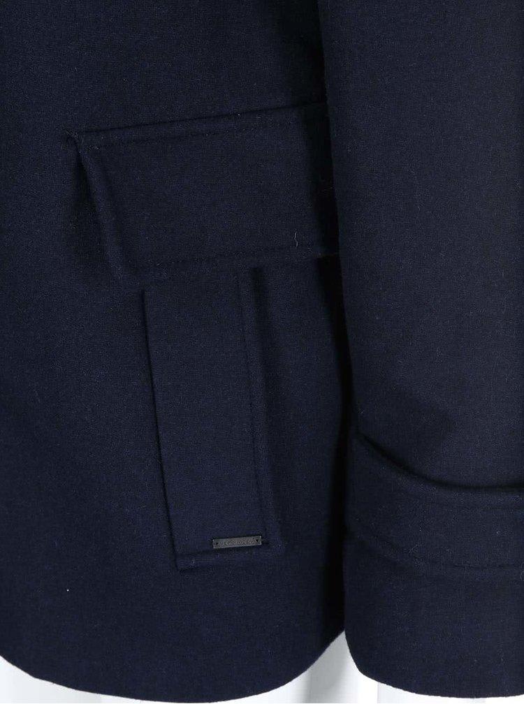 Palton Camille bleumarin cu glugă de la VERO MODA