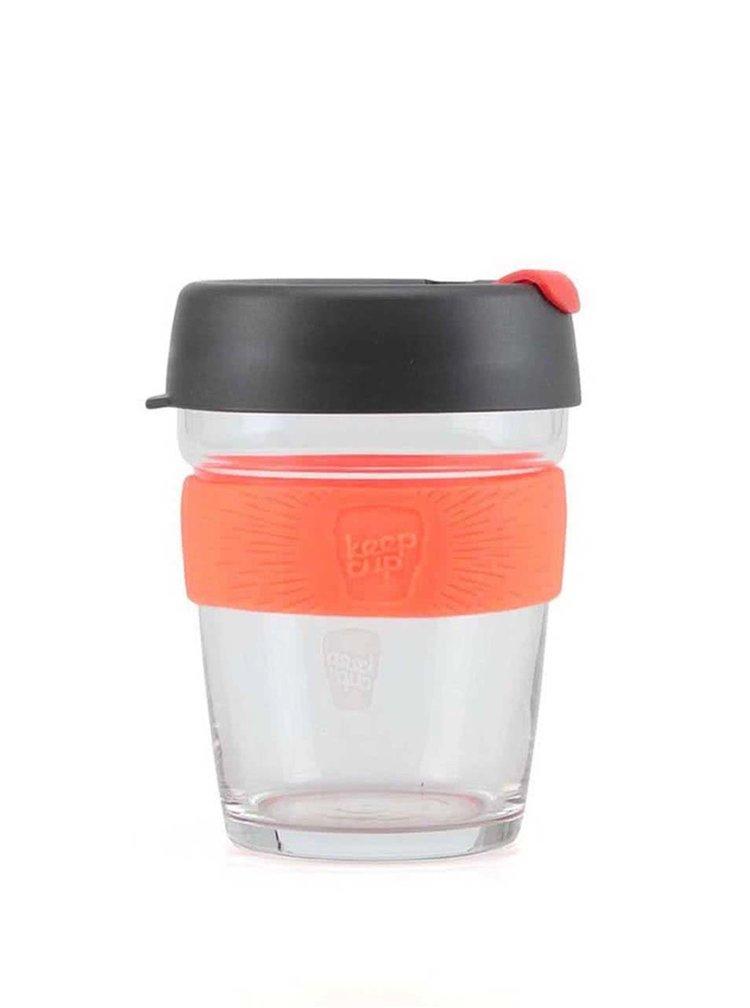 Dizajnový cestovný sklenený hrnček KeepCup Brew Magnum Medium