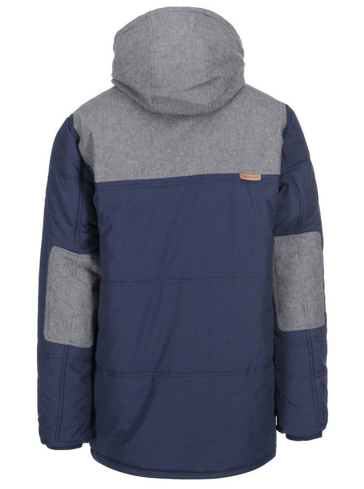 Šedo-modrá pánská bunda Ragwear Jerry