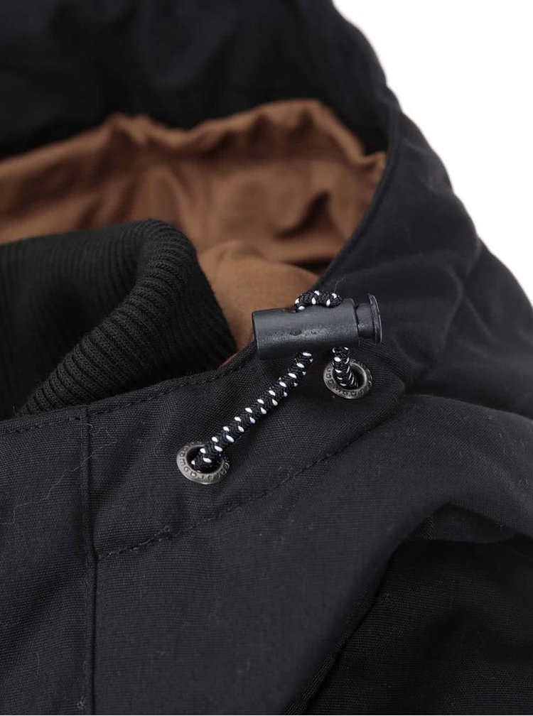 Hnědo-černá pánská bunda Ragwear Other