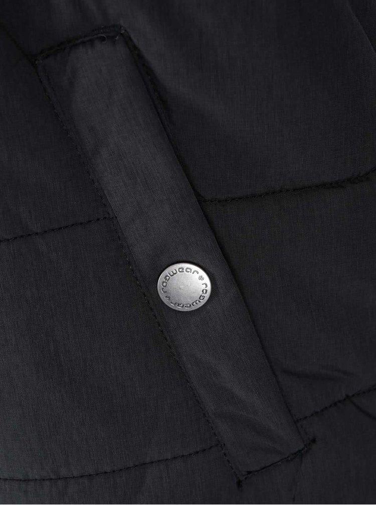 Šedo-černá pánská bunda Ragwear Nugg Herringbone