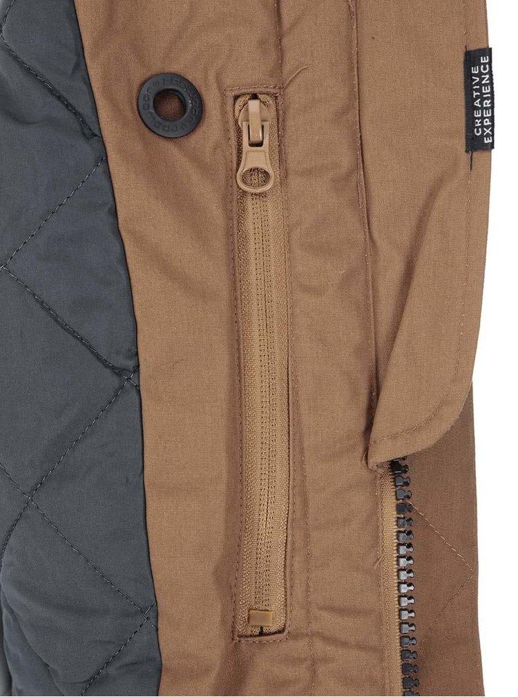 Jachetă bărbătească Dock maro de la Ragwear